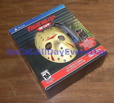 Friday the 13th Ultimate Slasher COLLECTOR'S Edition (PS4) BRAND NEW & SEALED