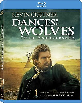 Dances With Wolves [Blu-ray] 20th Anniversary Edition  New, Free Shipping