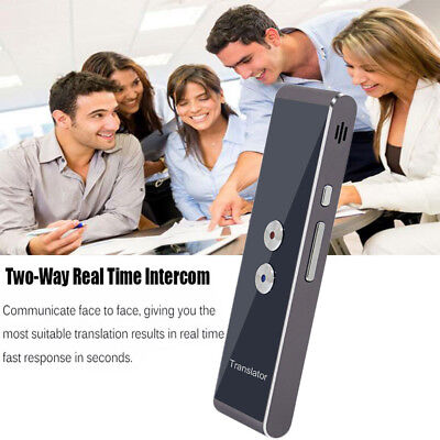 Portable Smart Voice Translator Two-Way Real Time 30 Multi-Language Translation