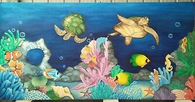 'Under the Sea' painting