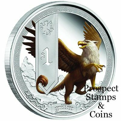 2013 Mythical Creatures - Griffin 1oz Silver Proof Coin
