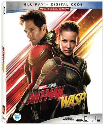 Ant-Man and the Wasp (2018) [Blu-ray +Digital Copy] New!!