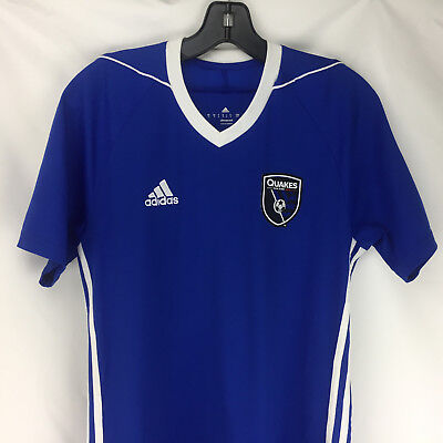 sports shoes 9e211 f5834 SAN JOSE EARTHQUAKES MLS Soccer 2017/2018 Adidas Away Jersey ...