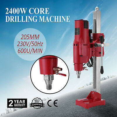 2400W Diamond Core Drilling Drill Stand bits Sewer Pipes Machine Portable HOT