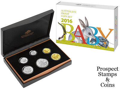 2016 Royal Australian Mint Alphabet Baby Proof Set