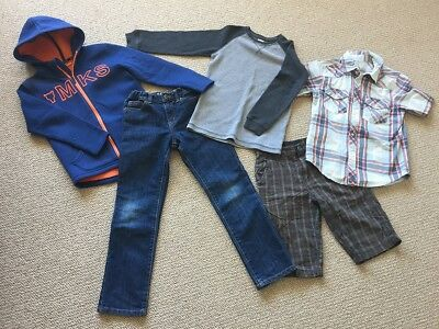 Boys Clothing All Seasons Pack Size 7 & 8