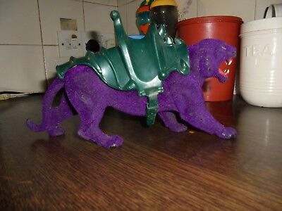 Vintage 1980's Masters Of The Universe Figures,he Man Figures,panthor Complete