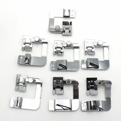 1 pcs Domestic Hemming Cloth Strip Presser Foot Sewing Machine Hemmer Rolled Hem