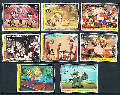 Gambia 1992 60th Anniversary of Goofy SG 1391/98 MNH
