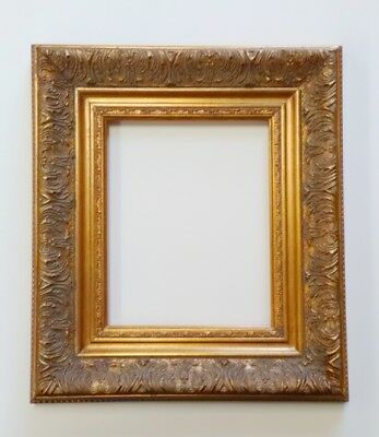 Picture Frame 5x7 Vintage Antique Style Baroque Bronze Gold Ornate w GLASS 1360G