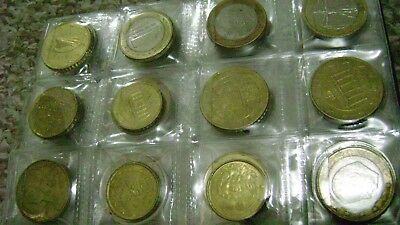 fifty coins from 1950 mixed