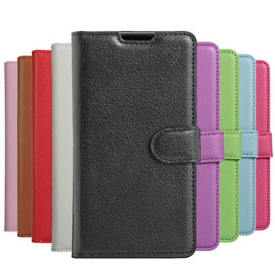 Flip Cover PU Leather Wallet Phone Back Case For Alcatel 3 5052D 5052A 5052Y