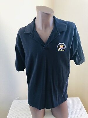 New York State Troopers PBA NY POLICE Large Polo Shirt Casual Union NYSP