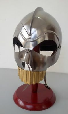 Spartan King Leonidas Medieval Helmet 300 Movie Greek Roman worrier Costume Gift