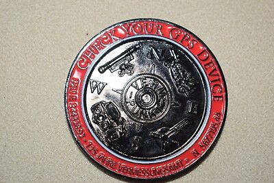 Geocoin Check your GPS Device