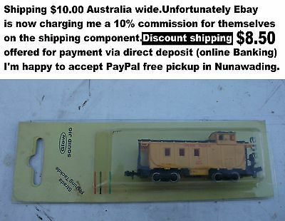 Union Pacific Caboose N gauge carriage by Bachmann  good usable condition