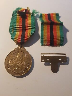 ZIMBABWE INDEPENDENCE MEDAL 18th APRIL 1980