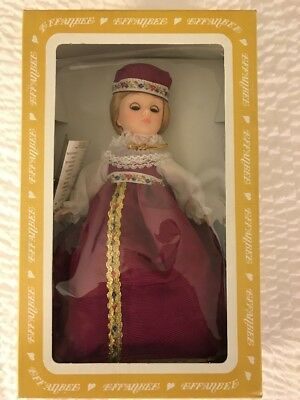 Effanbee 1199 Rapunzel Cintage Storybook Nursery Collectible  Doll New In Box