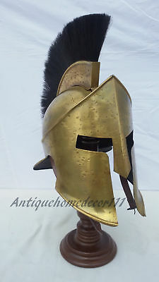 Medieval 300 Spartan Helmet Antique Finish King Leonidas Replica Halloween Gift