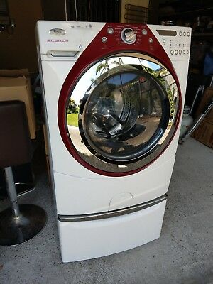 Whirlpool WFE1210CS 10kg Front Load Washing Machine (Cranberry Sports Model)