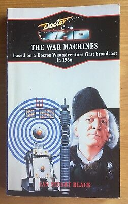 Doctor Who The War Machines 'blue spine' Virgin reprint/Target book