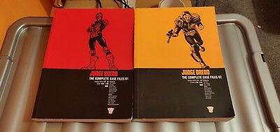 Judge Dredd The Complete Case Files 1 And 2