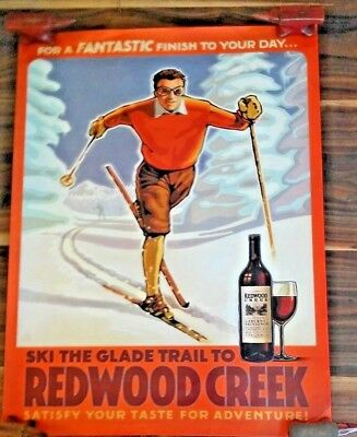 2 Redwood Creek Frei Bros. 2006-2007 Wine Posters & Signed Winemaker Letter