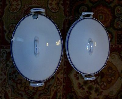 Fantastic Pair Large Vintage Langenthal Swiss Porcelain Tureens  Great Condition