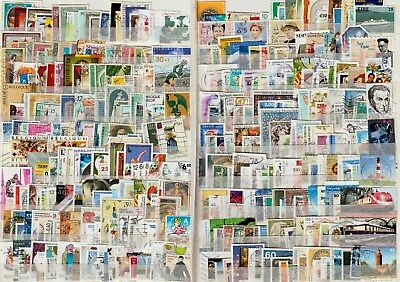 Europe, 1000 different used. Good range from about 40 countries