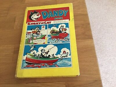 The Dandy Book- Rare 1950's Copy!