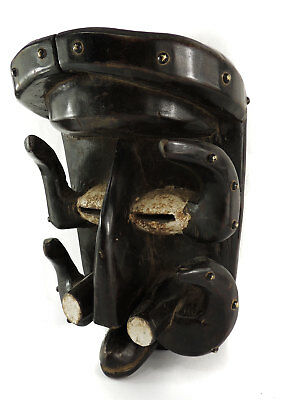 Bete Mask with Studs Ivory Coast African Art SALE WAS $450.00