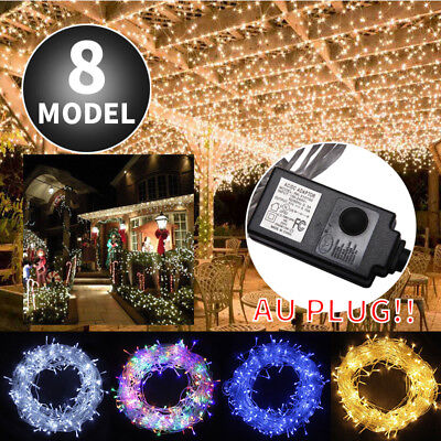 50m 500 LED Waterproof Fairy Christmas Fairy String Lights Wedding Party Garden