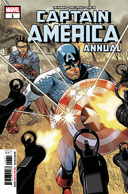 Captain America Annual #1 Marvel - 1St Print - Bagged & Boarded. Free Uk P+P