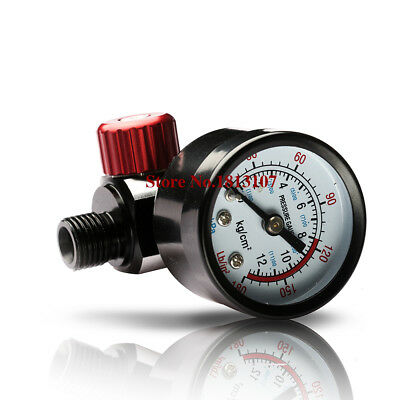 Precision pressure regulator with display table suitable for spray gun air inlet