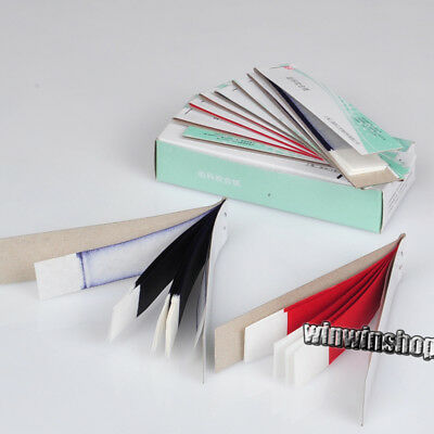 High Quality 2 Boxes Articulating Paper Red Strips Hot RED & BLUE(400 SHEETS) De