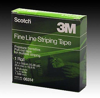 """3M 06314 Scotch Fine Line Pull Out Tape 15Yd 1/16"""" (3M-6314)"""