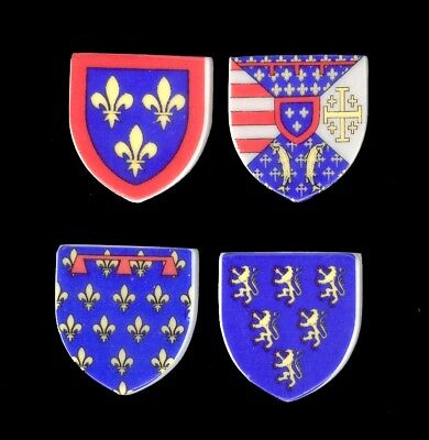 lot de fèves: N° 080 blason