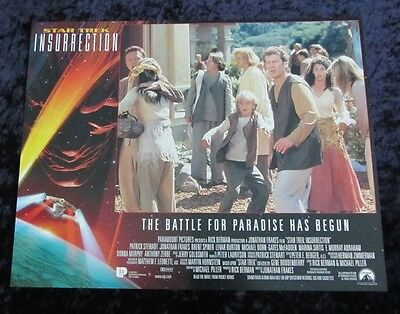Star Trek Insurrection  lobby card # 2
