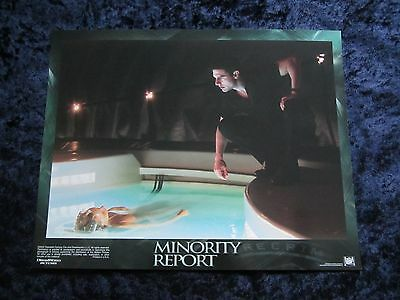 MINORITY REPORT lobby card #2 TOM CRUISE