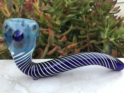 "Glass Handmade 5.5""Best Sherlock Hand Pipe"