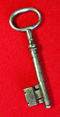 Skeleton Key - 1700's French Steel Antique - More Old Rare & Exotic Keys Here!