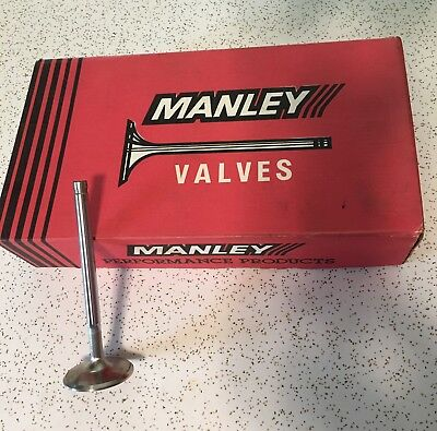 B/B Chevy Manley Stainless Steel Exhaust Race Flo Valves (NEW) 1.88""