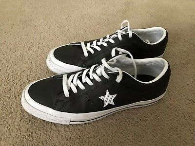 Mens Converse One Star Leather Low Top 9.5