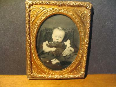 9th Plate Ambrotype of a Baby