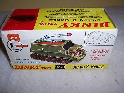 Dinky 353 Shado 2 Mobile Space Ufo