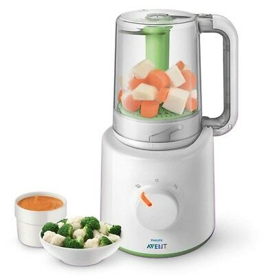 Avent Combined Steamer And Blender (2 In 1 Healthy Baby Food Maker)