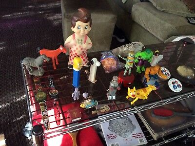 Big Lot Antique & Vintage Toy Box Collectibles