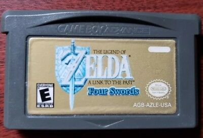 Legend of Zelda: A Link to the Past (Nintendo Game Boy Advance, 2002) gba