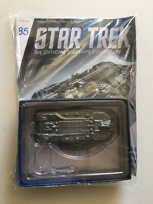 STAR TREK Eaglemoss Starships Collection Federation Holoship #85 w/Magazine