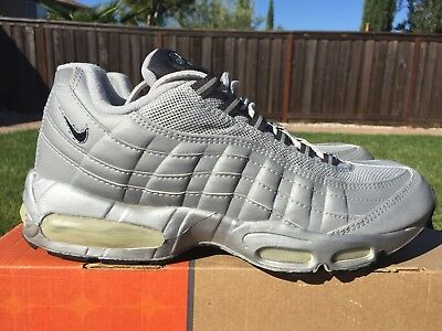 NIKE AIR MAX 95 3M Silver all Reflective 1999 2000 Retro Sz